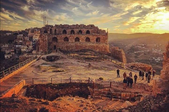 Hermosa vista del Castillo Karak. Foto: jordan_journey