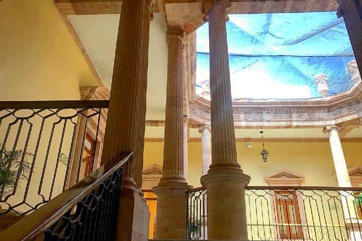 El diseño arquitectónico del Museo del Conde Rul y Valenciana es increíble. Foto: Ikarenpic