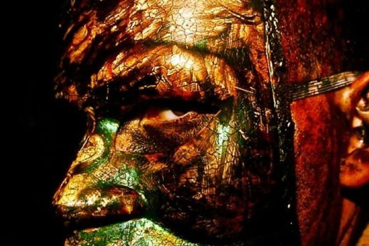 Hombre con máscara Foto: McKamey Manor