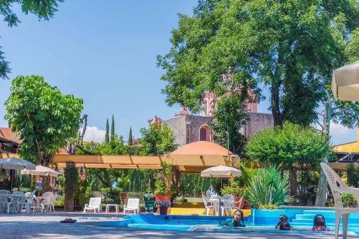 Instalaciones del Hotel El Relox. Foto: Archivo
