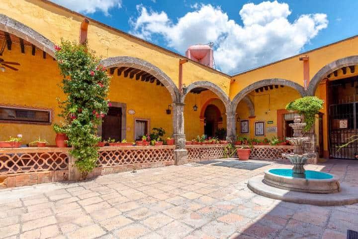 Hotel Relox, un lugar dónde hospedarte en Tequisquiapan. Foto: Archivo