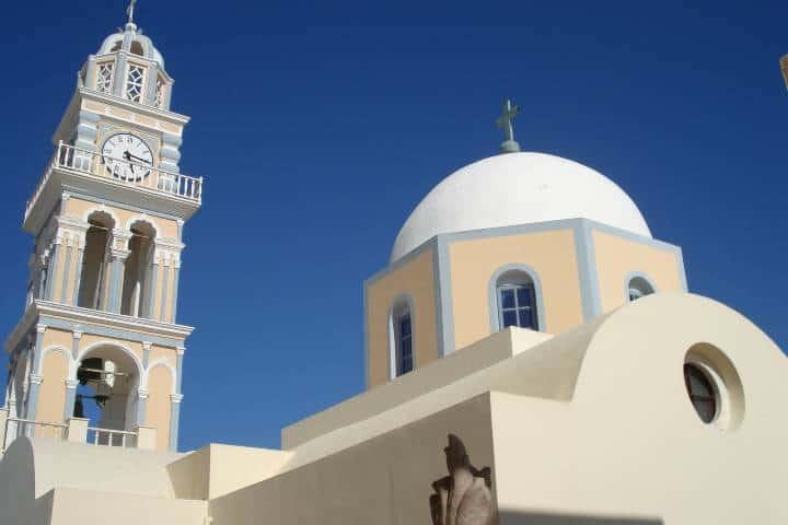 Iglesia Agios Ioannis en Skopelos. Foto: Francisco Boada