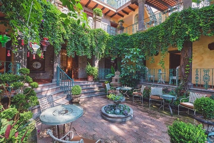 Es como si el tiempo se detuvo y las plantas aprovecharon para crecer. Foto: Mansión San Miguel