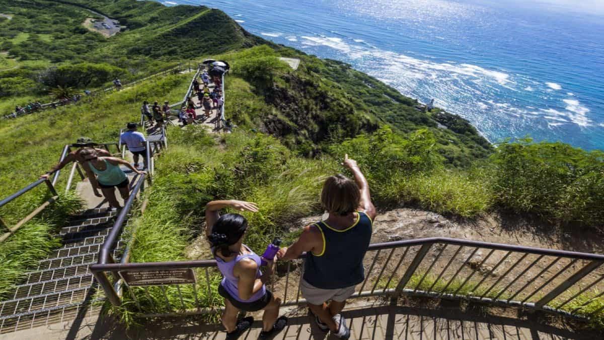 Isla Oahu, uno de los lugares de filmación de Lost. Foto: Go Hawai'i