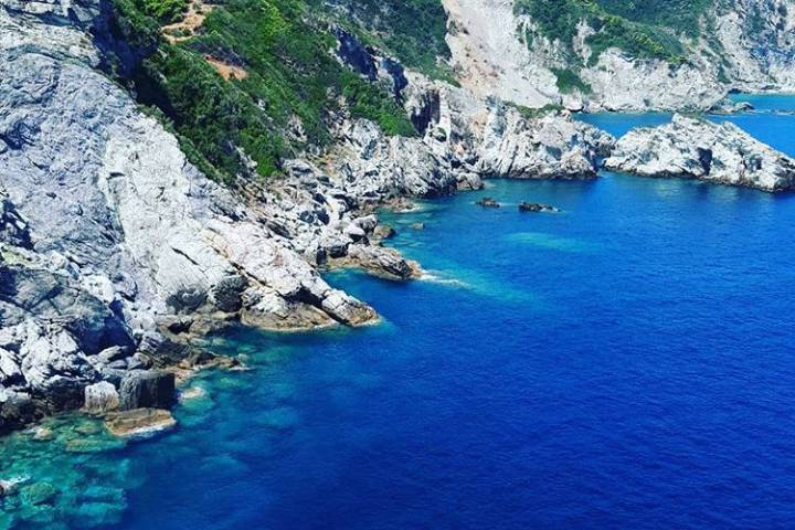 Isla Skopelos donde se filmó Mamma Mía. Foto: vicky.riga