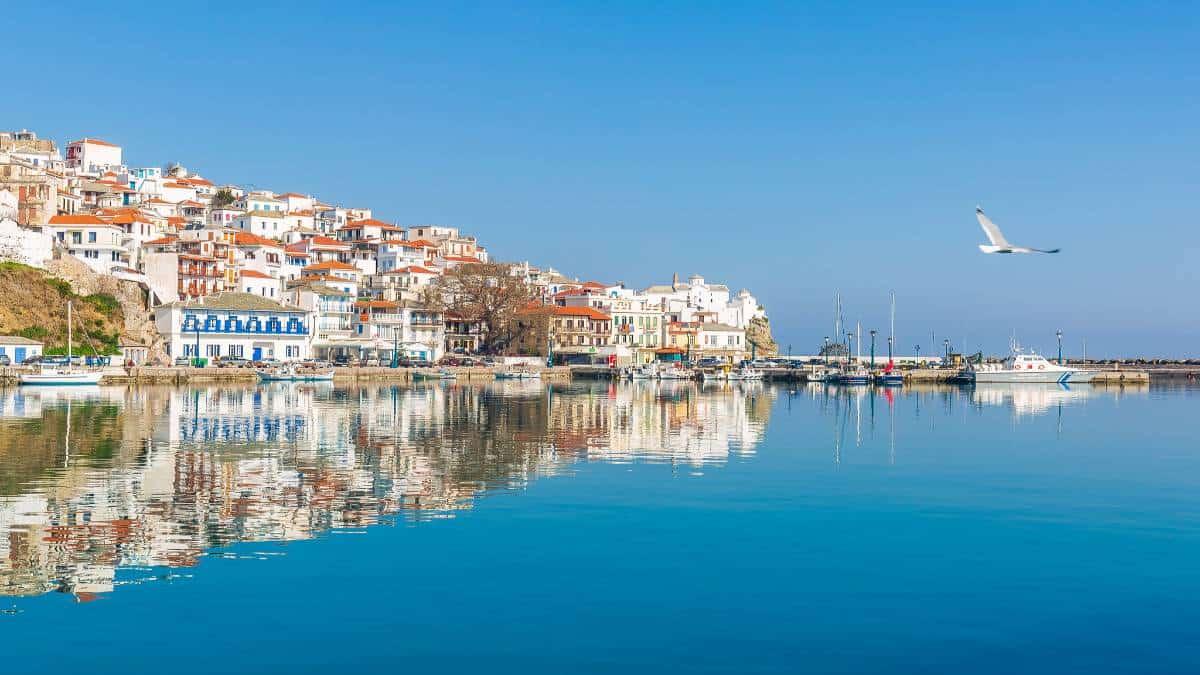Isla Skopelos en Grecia. Foto: Virgilios Tsioulli