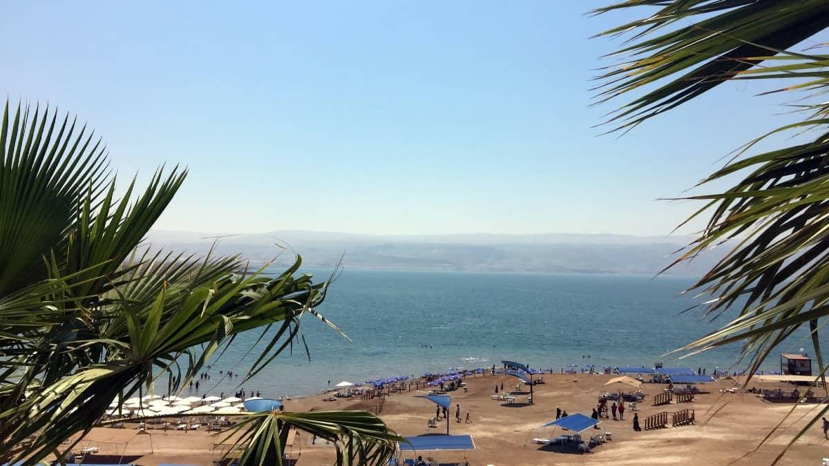 Kalia Beach, Israel. Foto: Larry Koester