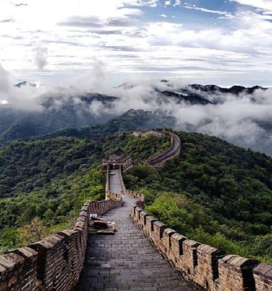 La Muralla China es como el Camino de la Serpiente... ¿No lo crees? Foto: Armadillo Amarillo