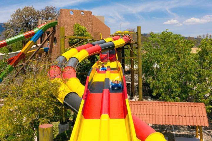 La diversión aquí está garantizada. Foto: Parque Acuático Tepetongo | Facebook