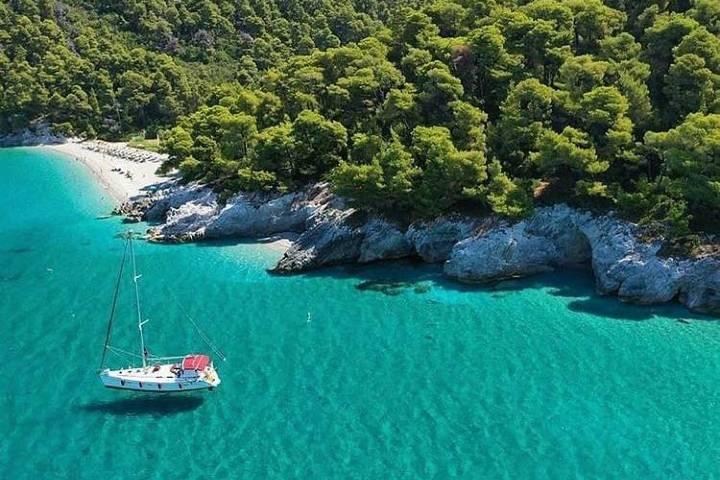 La isla de Mamma Mía: Skopelos. Foto: titeks
