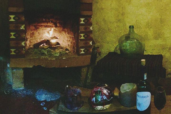 La tranquilidad de la estancia y una buena chimenea. Foto: Archivo