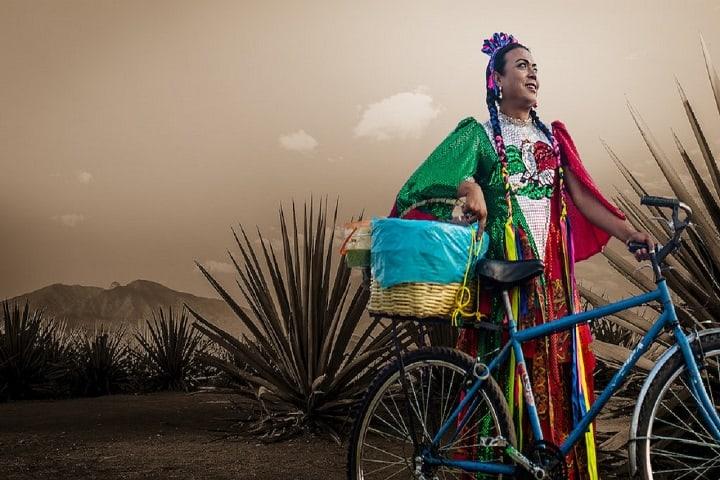 Lady Tacos de Canasta es un símbolo en la venta de éstos tacos. Foto: Homosensual