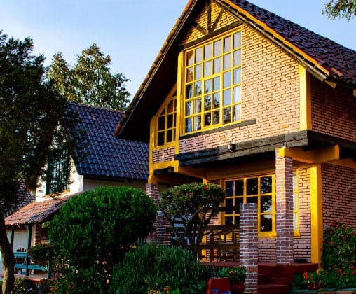 Las cabañas de Villa Alpina ¡Son magníficas! Foto: Villa Alpina | Facebook