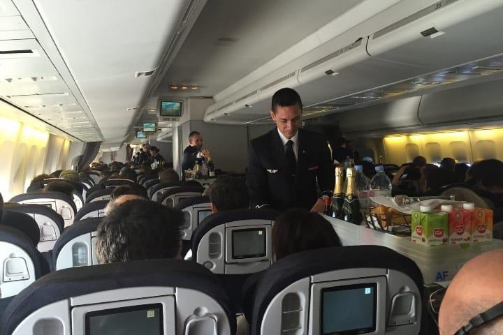 Las políticas de Air France han cambiado. Foto: Eric Salard