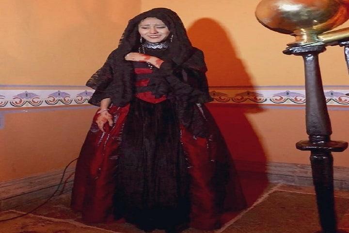 ¿Qué tal el vestuario de la Llorona? De miedo, ¿No? Foto: Alejandro Zayas