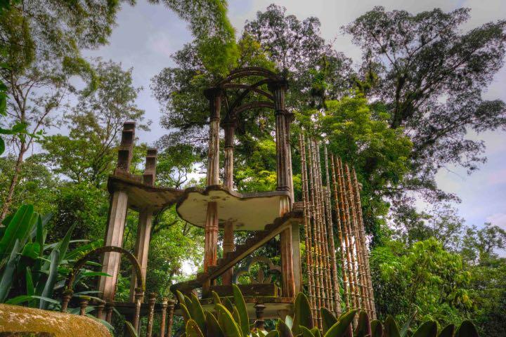 Los accesos para entrar al Jardín Escultórico Edward James se adquieren en su sitio web Foto: Archivo