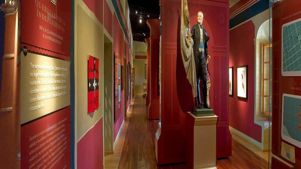Adéntrate en los rincones del Museo Regional de Querétaro y descubre sus secretos. Foto: Programa Destinos México