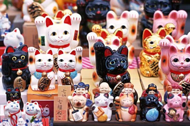Maneki-Neko Souvenir Foto: WallHere