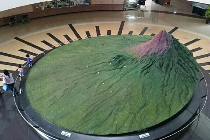 Maqueta del Museo Monte Merapi Foto: uswahoo