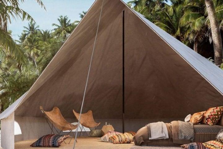 Campamento Maxa Camp en Tulum Foto: Un México