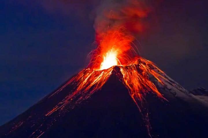 Merapi Volcano Foto: Uniradio Noticias