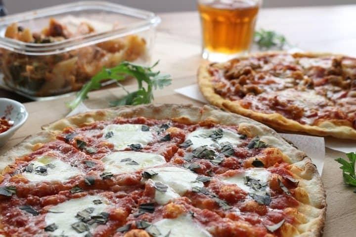 Mercado independencia en la CDMX. Pizza. Imagen. Janice Lin