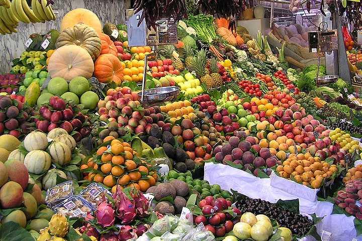 Mercado la Boqueria en Barcelona ¡Te dejará con la boca abierta!. Mercado Boquería. Imagen. Dungodung