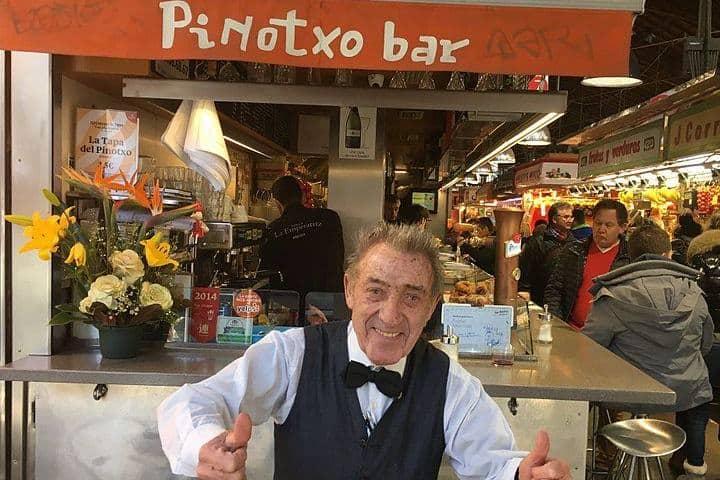 Mercado la Boqueria en Barcelona ¡Te dejará con la boca abierta!. Pinoxto bar. Imagen. Davidpar