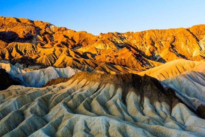 Montaña de colores Foto: Infobae