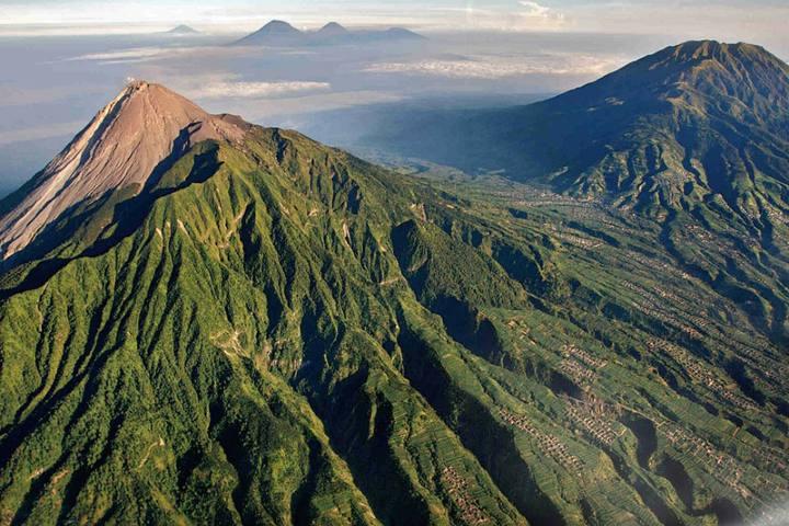 Monte Merapi Foto: Enciclopedia de geografía