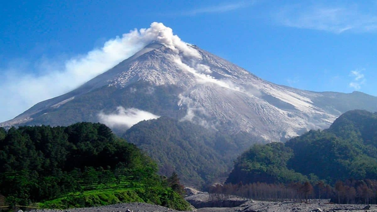 Monte Merapi Foto: Télam
