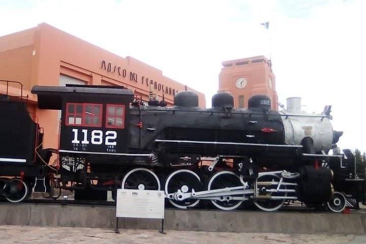 Museo de ferrocarril en San Luis Potosí. Ferrocarril. Imagen. David Hernández