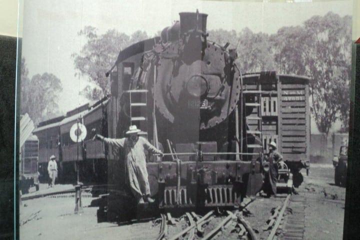 Museo de ferrocarril en San Luis Potosí. Foto. Imagen. SonorenseViajero