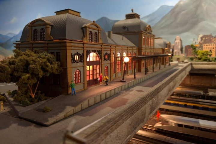 Museo de ferrocarril en San Luis Potosí. Maqueta. Imagen. Archivo