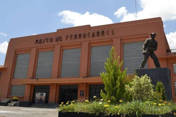 Museo de ferrocarril en San Luis Potosí. Museo. Imagen. Día de los museos en San Luis Potosí