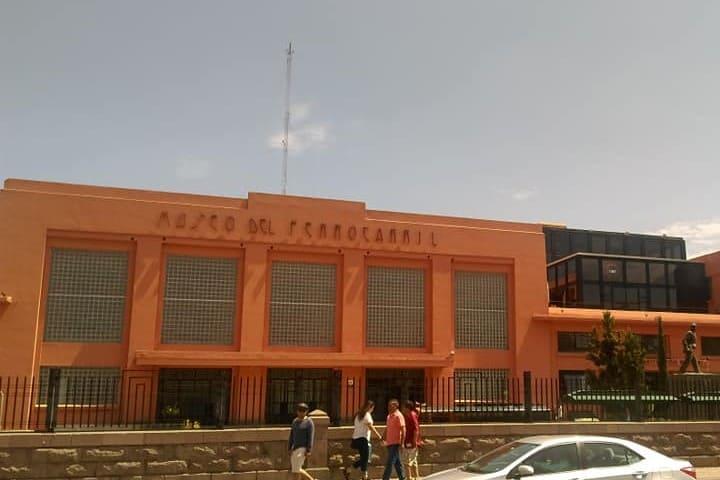 Museo de ferrocarril en San Luis Potosí. Museo. Imagen. Max Cruz Perez