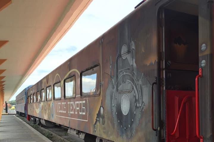 Museo de ferrocarril en San Luis Potosí. Museo. Imagen. Rodolfo Quintero Jimenez