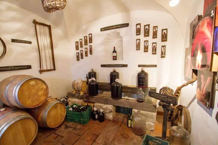 Museo del vino y queso Foto: Ciudad y poder