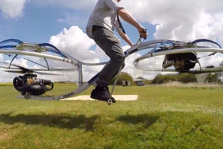Hoverbike la bici voladora
