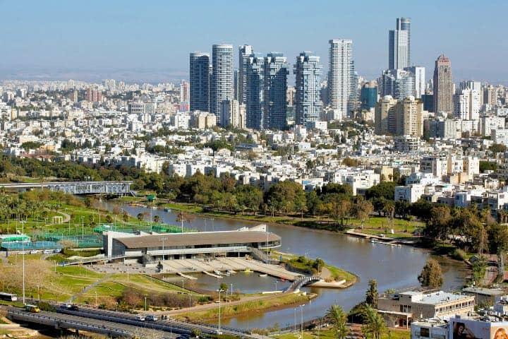 Parque Yarkon es parte de los jardines de Israel. Foto: bzkramer