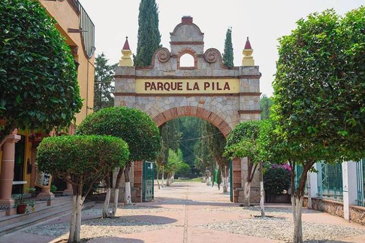 Parque la Pila en Tequisquiapan. Foto: asomarteqro