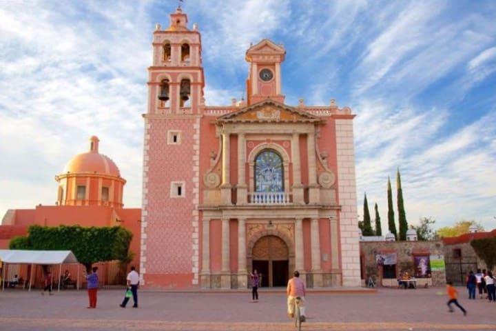 Parroquia de Santa Maria de la Asuncion. Foto: Pueblos Mágicos de México