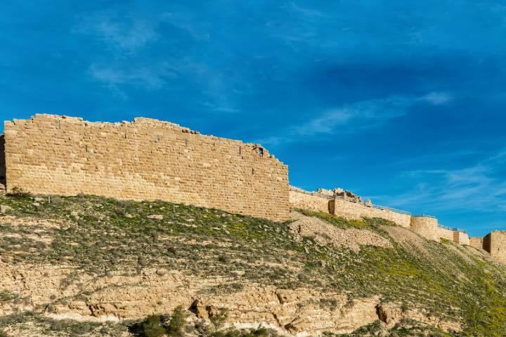 Parte trasera del Castillo Karak. Foto Ramon Muñoz