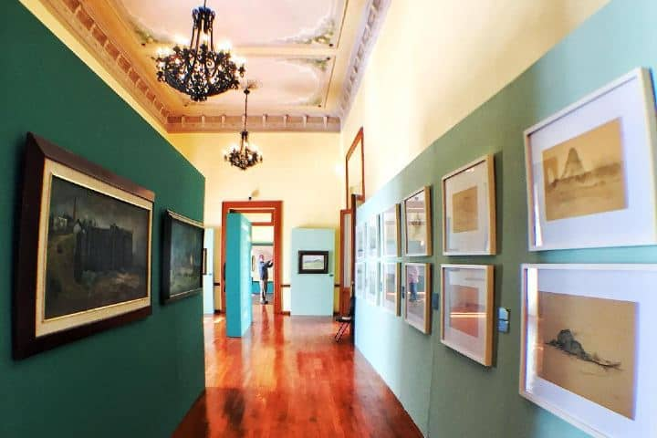 ¿Consideras que es colorido el museo del Conde? Yo digo que sí. Foto: mexicananddino