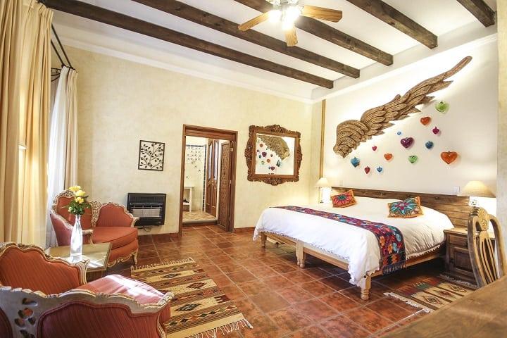 Que la pasión sea eterna y el amor perdure en esta habitación. Foto: Mansión San Miguel