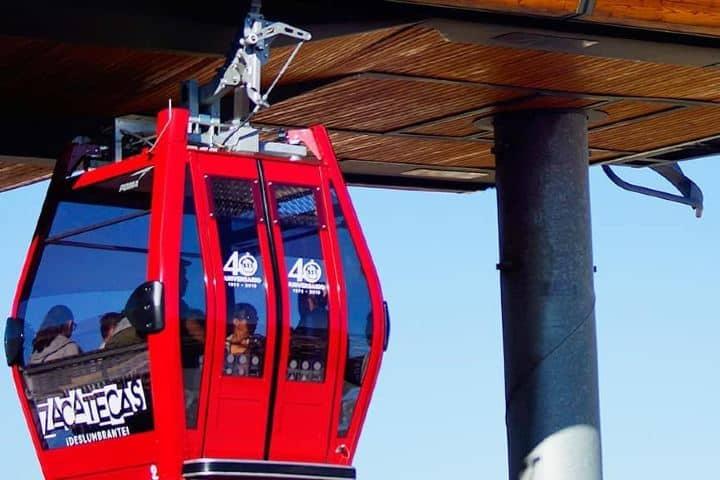 Pequeñas pero muy cómodas cabinas las del teleférico de Zacatecas. Foto: paco3.0