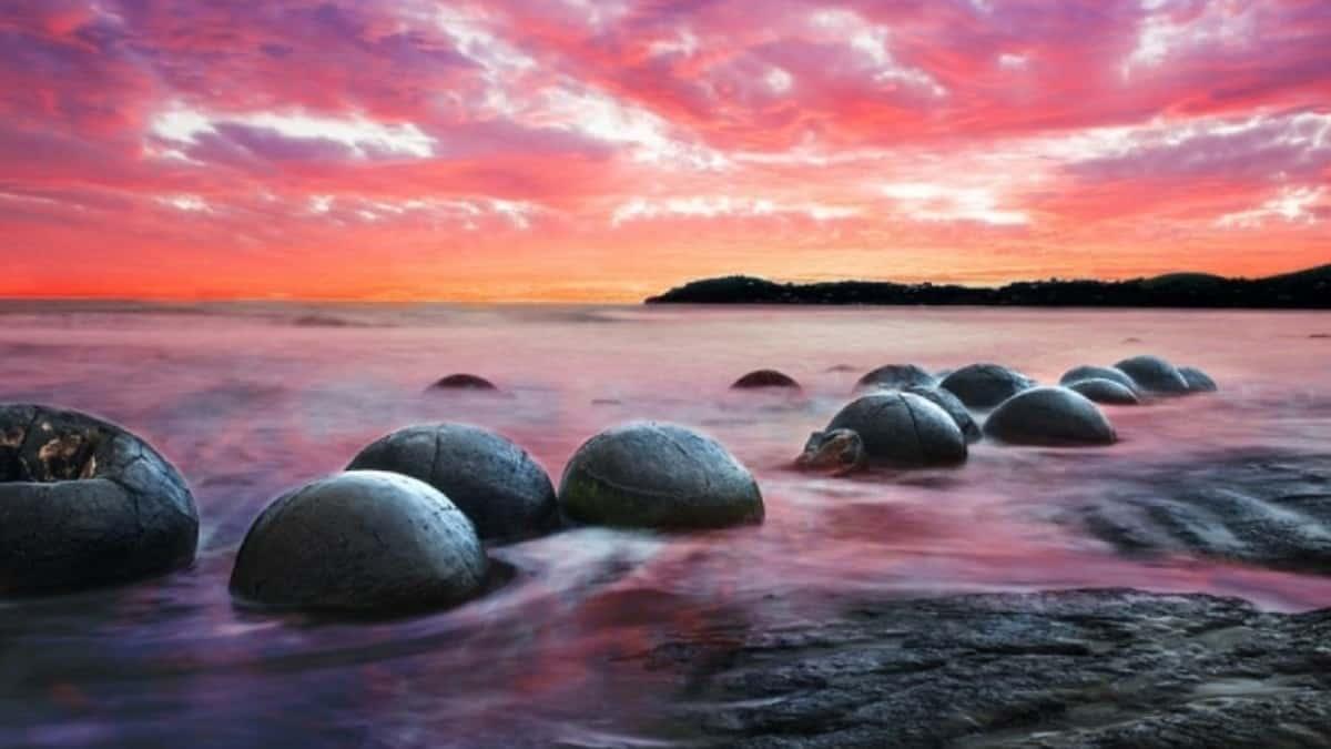 Piedras Gigantes de Nueva Zelanda Foto_ Iata Seguros