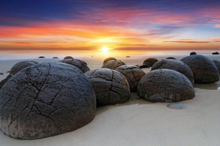 Piedras Gigantes de Nueva Zelanda Foto: Nuestro clima