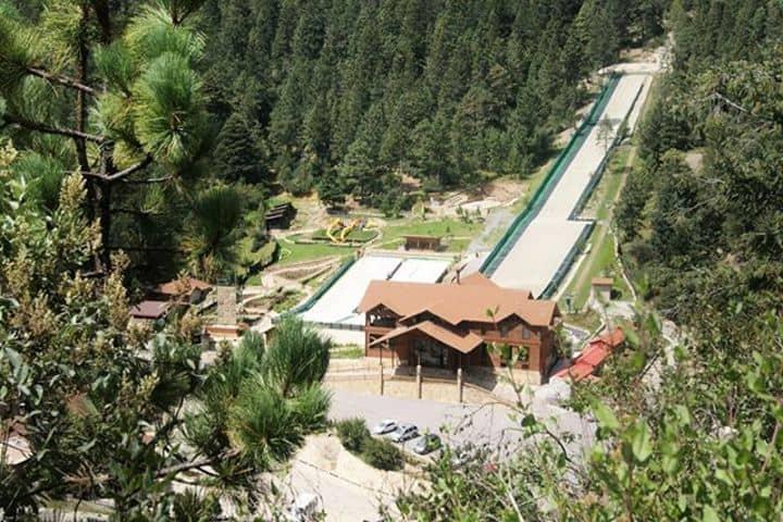 Pista de esquí Foto: Bosques de Monterreal