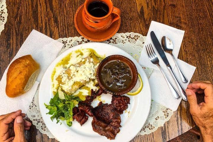 Platillos en Restaurante Las Monjas Foto: Las Monjas Clarisas | Facebook